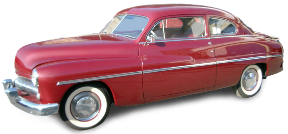 Mercury coupè 1949