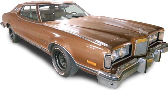 Noleggio Mercury Cougar XR7 1974 Brown in Lombardia